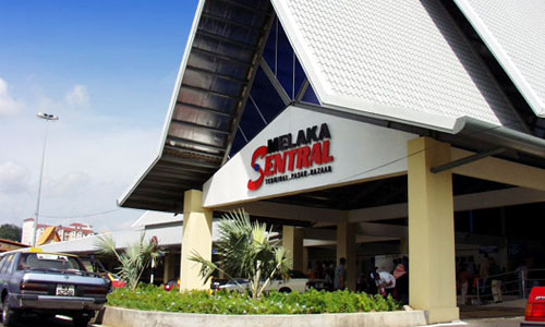 マラッカセントラルバスターミナル(Melaka Sentral Bus Terminal)