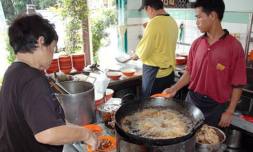 マラッカのパイクォー麺のお店